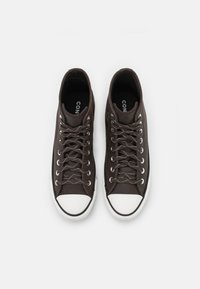 Converse - CHUCK TAYLOR ALL STAR UNISEX - Sneakers alte - brown/vintage white/black - 3