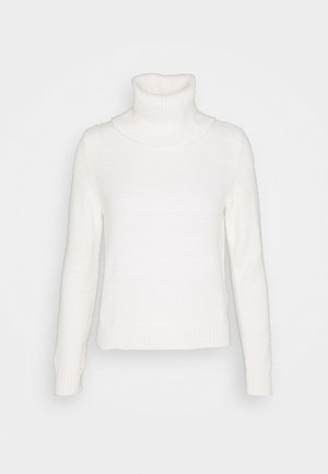 VIFEAMI ROLLNECK TOP - Svetr - whisper white