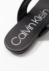 Calvin Klein - SABRE - Varvassandaalit - black - 6