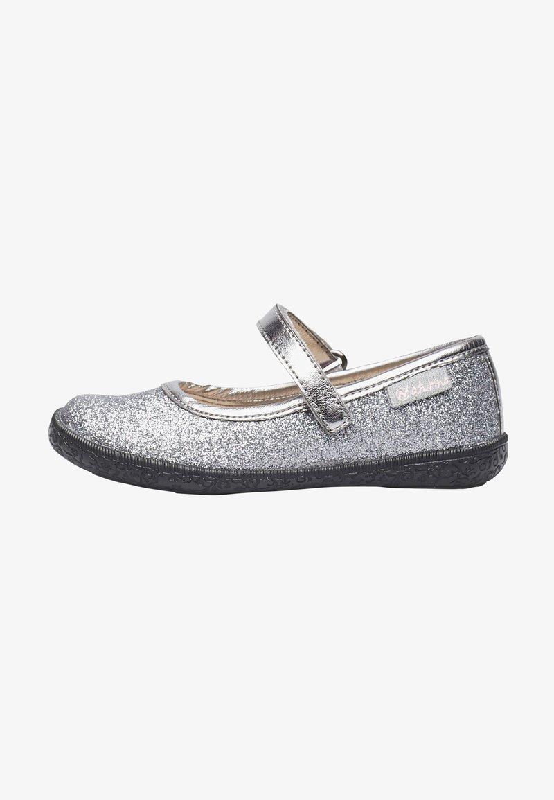 Naturino - PAVIA - Ankle strap ballet pumps - silber