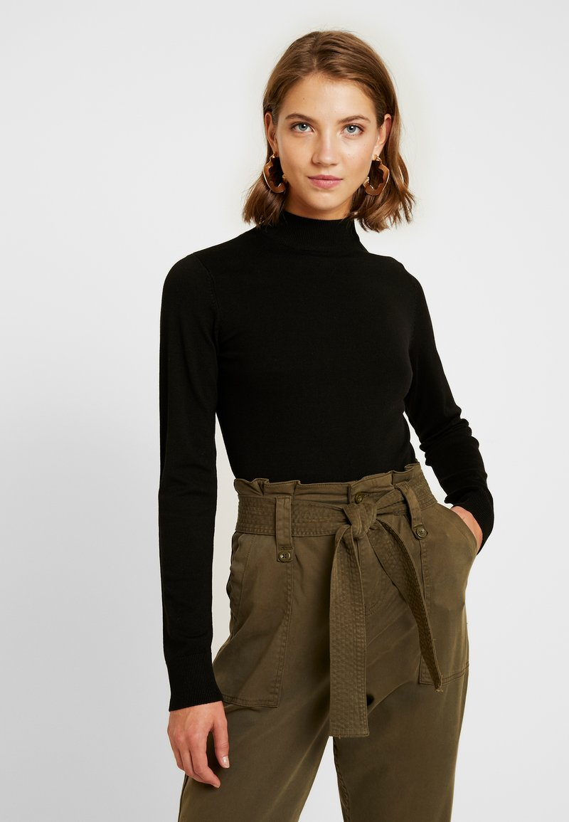 Monki - INGRID - Pullover - black