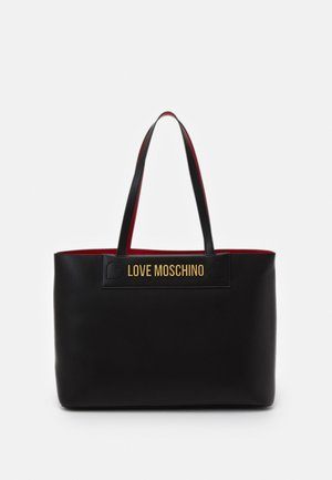 THE NEW LETTERING - Sac à main - black