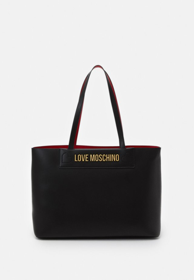 THE NEW LETTERING - Bolso de mano - black