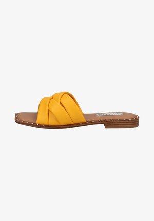 TERRON - Mules - yellow