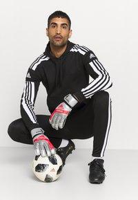 adidas Performance - SQUAD HOOD - Sweatshirt - black - 3