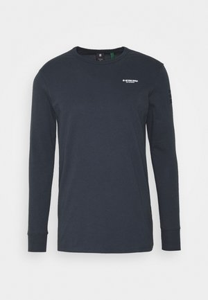 BASE R T L\S - Long sleeved top - compact jersey o - legion blue