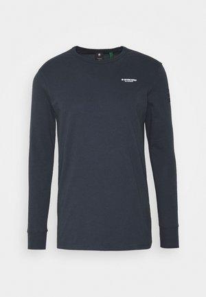 BASE R T L\S - Top sdlouhým rukávem - compact jersey o - legion blue