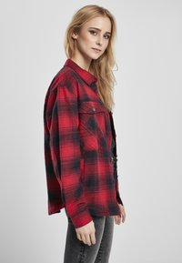 Urban Classics - Button-down blouse - darkblue/red - 3