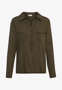 Cream - HONEY SHIRT - Bluser - sea green - 5