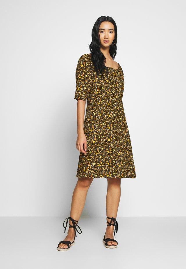 Korte jurk - printed