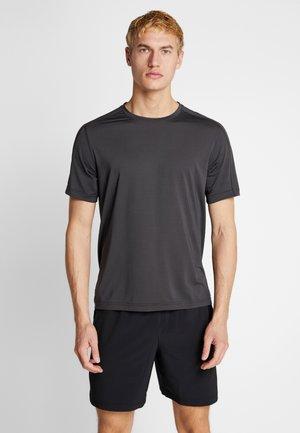 TEE - T-shirt med print - grey