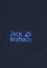 Jack Wolfskin - BAKSMALLA JACKET KIDS - Fleecová bunda - midnight blue - 3