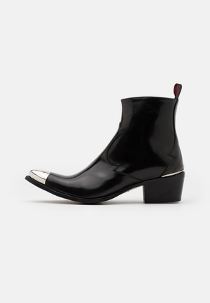 SIXX SINGLE ZIP - Classic ankle boots - college black