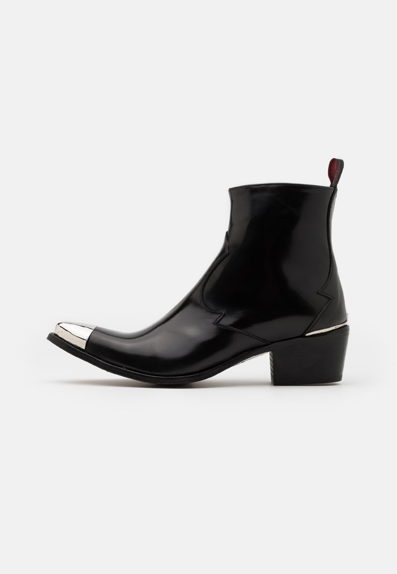 Jeffery West - SIXX SINGLE ZIP - Classic ankle boots - college black