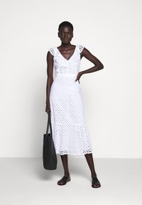 J.CREW - PANAMA DRESS - Day dress - white - 1