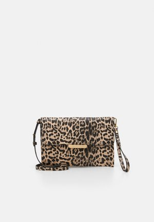ENVELOPE BAG HYENA - Clutches - beige