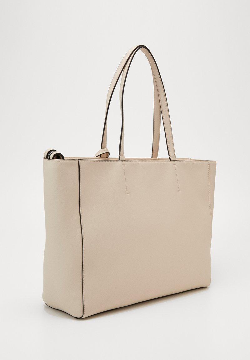 Calvin Klein - MUST SHOPPER SET - Velká kabelka - beige