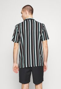 Common Kollectiv - UNISEX STRIPED SHORT SLEEVE BOWL - Shirt - black - 2