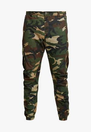 RIPSTOP PANTS - Cargo trousers - wood