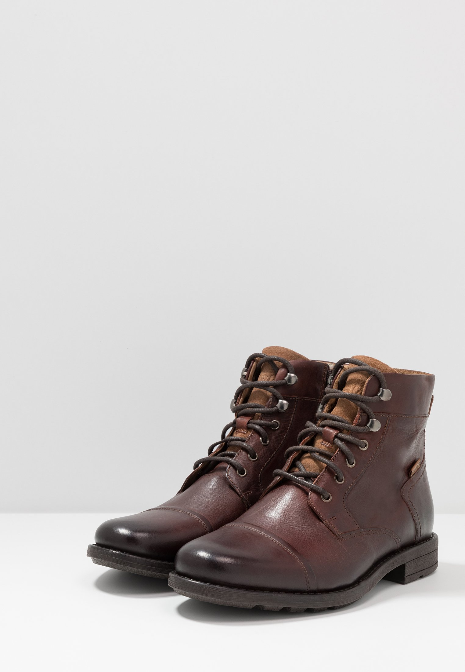Clearance Cheapest Levi's® REDDINGER - Lace-up ankle boots - brown | men's shoes 2020 W2kn7