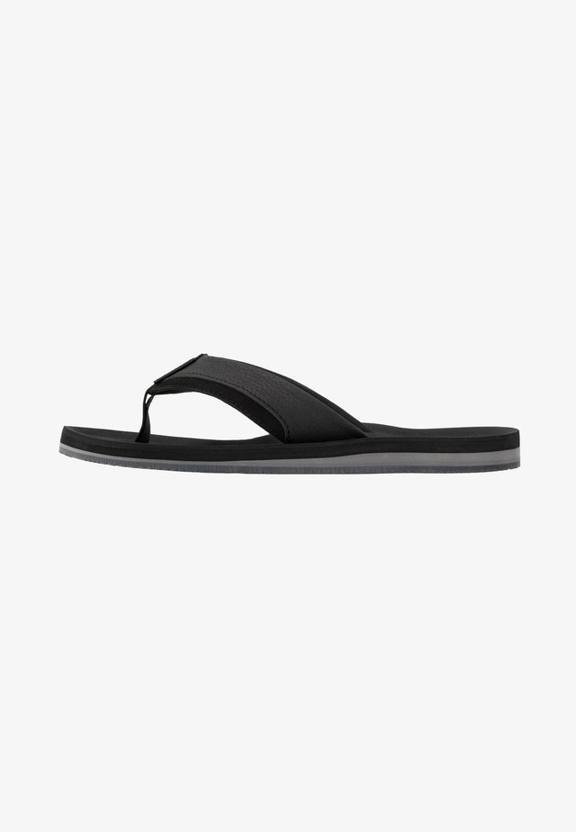 JFWSHAW PACK - T-bar sandals - anthracite
