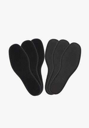 3ER-PACK - Steun- en inlegzolen - black