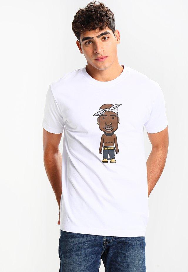 LA SKETCH  - Print T-shirt - white