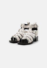 ASRA - STELLA - Varrelliset sandaalit - white - 1