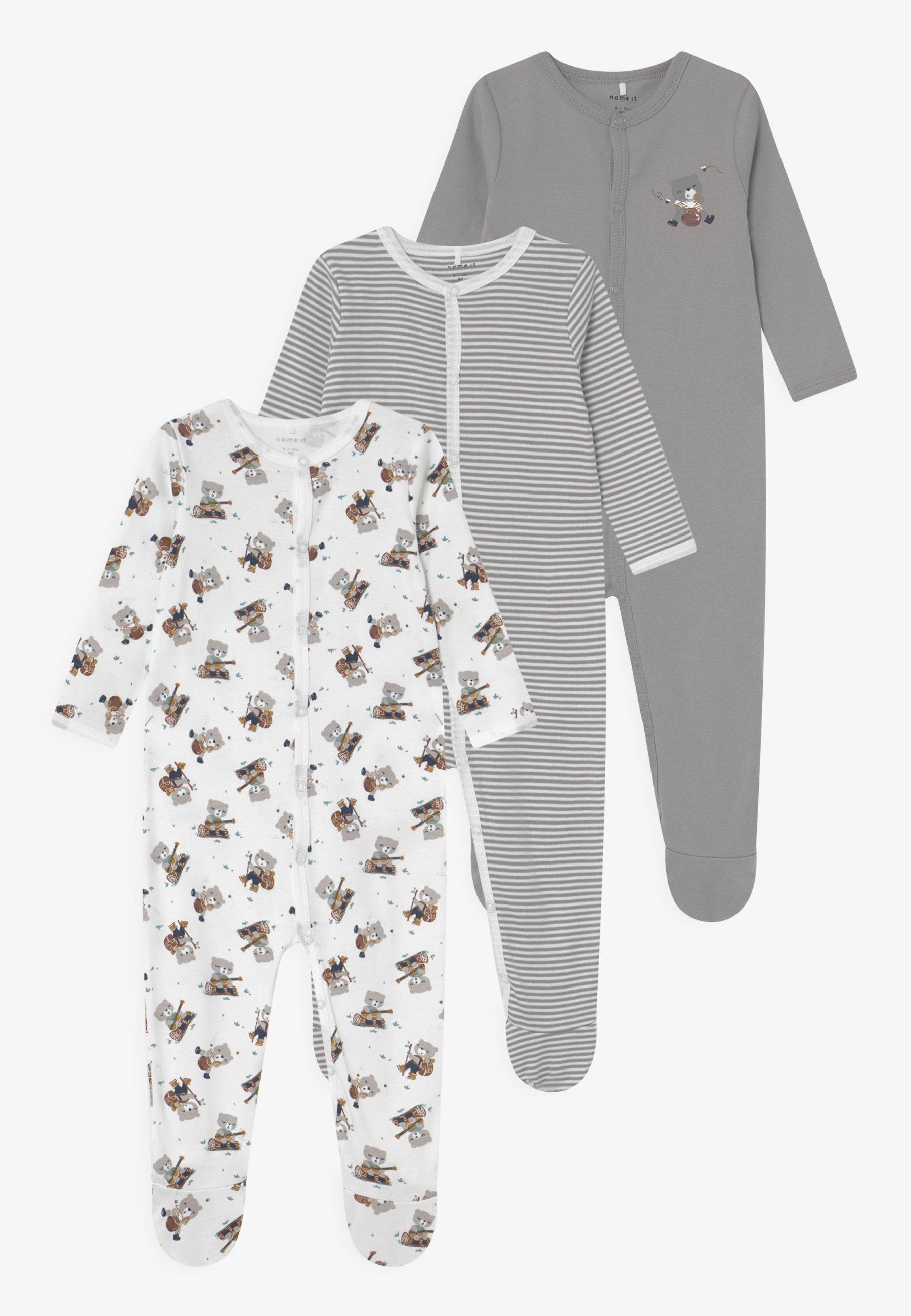 Niño NBNNIGHTSUIT BEAR 3 PACK UNISEX - Pijama de bebé