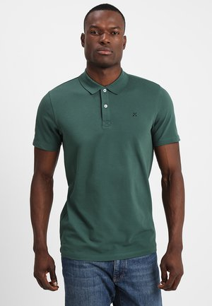 SLHLUKE SLIM FIT - Polo shirt - trekking green