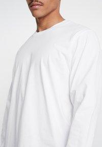 Carhartt WIP - BASE - Long sleeved top - white/black - 5