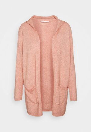 ONLLESLY HOOD  - Cardigan - misty rose