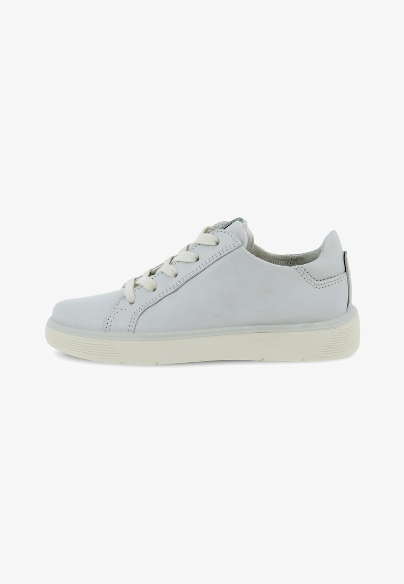 ECCO - STREET TRAY K - Casual lace-ups - white