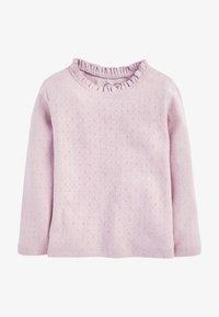 Next - T-shirt à manches longues - lilac - 0
