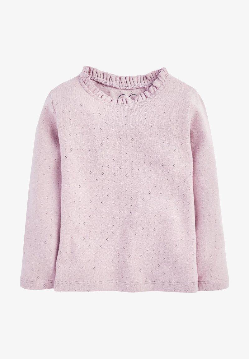 Next - T-shirt à manches longues - lilac