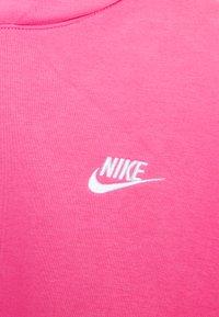 Nike Sportswear - CLUB HOODIE - Hættetrøjer - pinksicle/white - 2