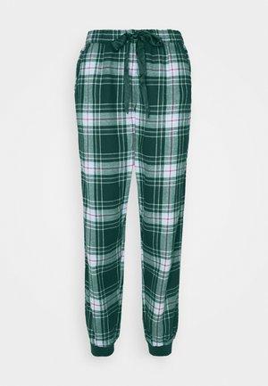 PANT CHECK CUFF - Pantaloni del pigiama - atlantic deep