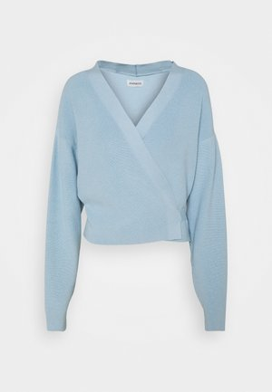 Chaqueta de punto - light blue