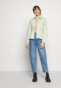 HOSBJERG - RUTH - Denim jacket - mint green - 1