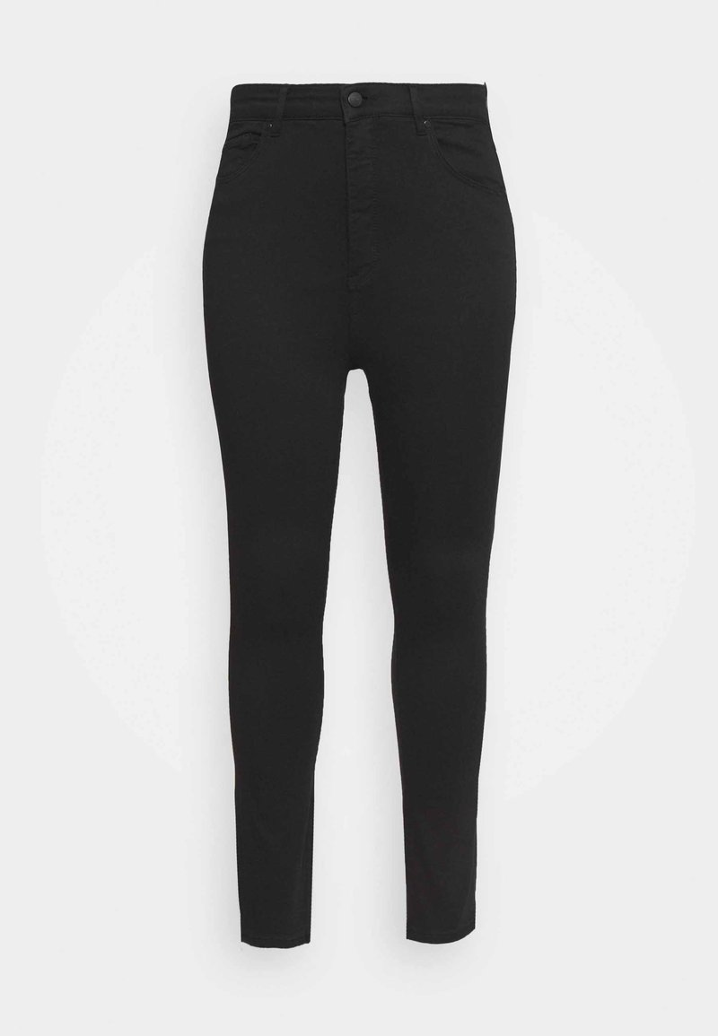 Forever New Curve - BIANCA HIGH RISE ANKLE GRAZER - Trousers - forever black