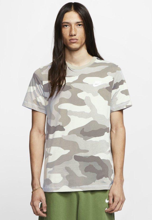 Print T-shirt - summit white/white