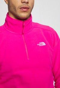The North Face - MENS GLACIER 1/4 ZIP - Fleece jumper - pink - 4