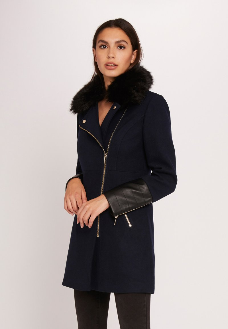 Morgan - GILO.N - Short coat - dark blue