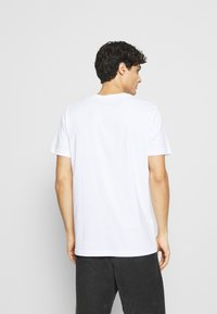 Selected Homme - SLHNORMAN O NECK TEE  - T-paita - bright white - 2