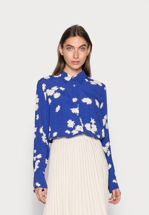 MINA - Button-down blouse - wind blue