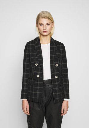 EDIT GRID CHECK - Blazer - black