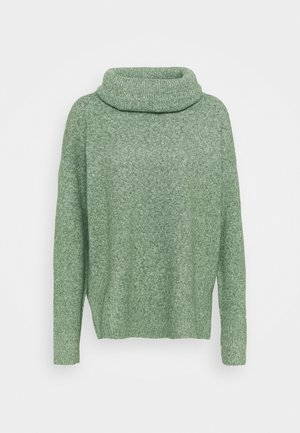 VMDOFFY COWLNECK - Jumper - laurel wreath melange