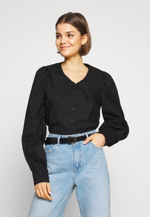 YULIA BLOUSE - Bluser - black