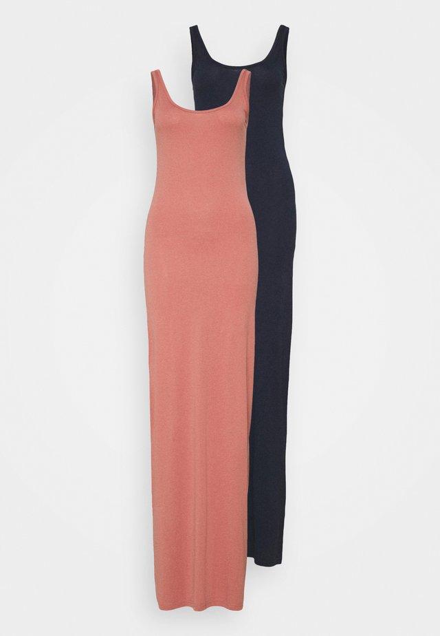 VMNANNA ANCLE DRESS 2 PACK - Maxi dress - navy blazer/old rose