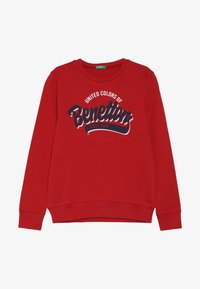 Benetton - Sweatshirts - dark red - 3